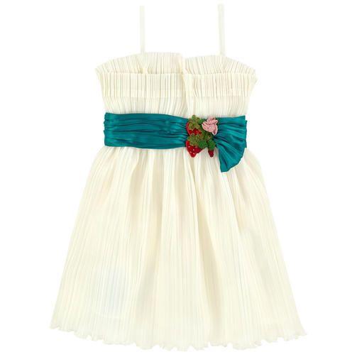 Gucci - Pleated silk dress - 164681