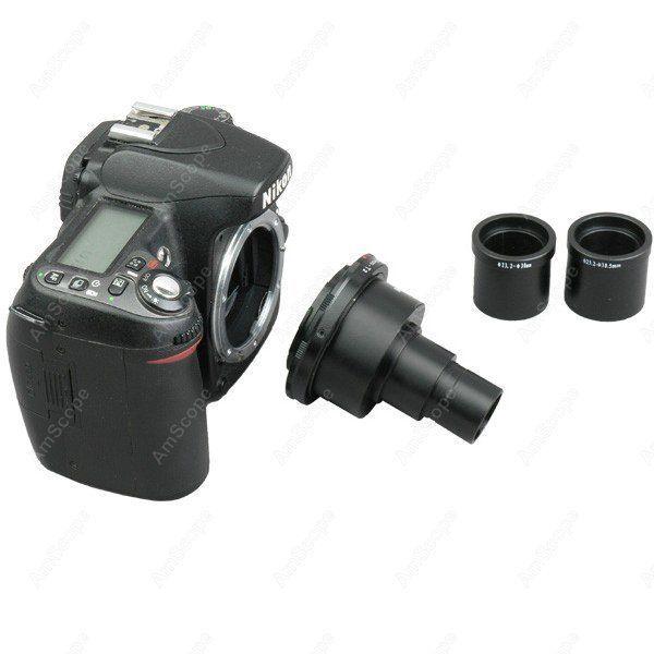Camera Adapter-AmScope Supplies Nikon SLR/DSLR Camera Adapter for Microscopes SKU: CA-NIK-SLR