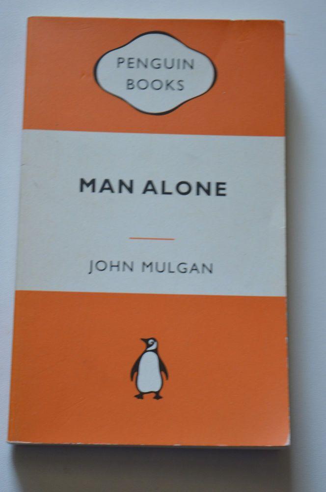 man alone by john mulgan pub by penguin 1972