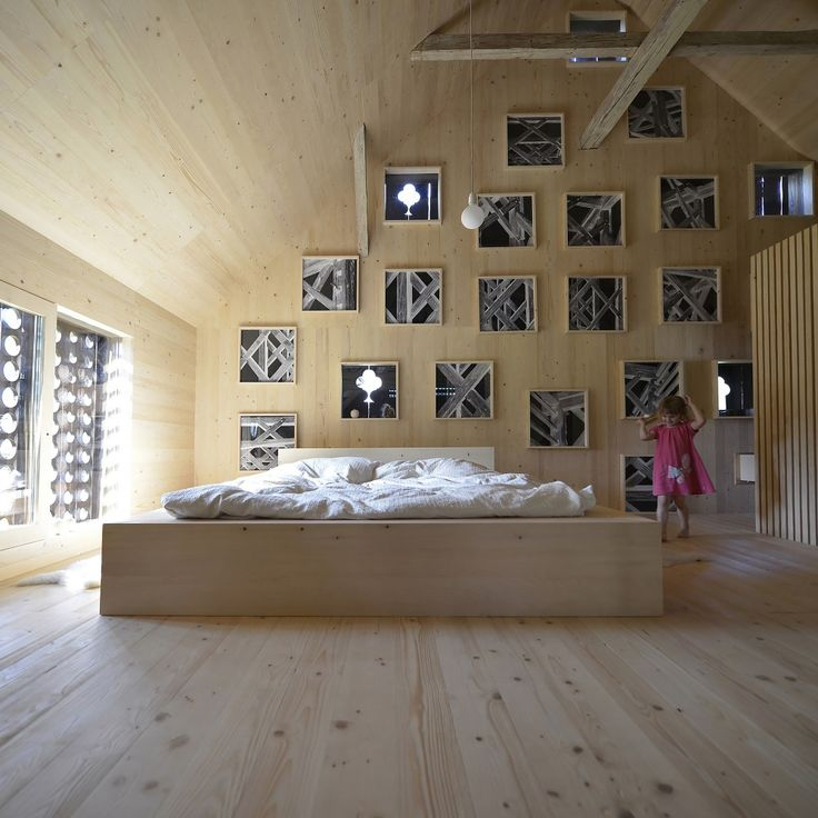 200 besten Architektur in Holz Bilder auf Pinterest Wohnideen - interieur mit holz lamellen haus design bilder