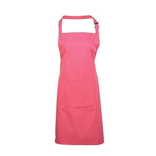 (Findes i rigtig mange forskellige farver) Adults/Unisex Plain Polycotton Bib Apron With Pocket - Various Colours Available (Fuchsia) Premier Workwear http://www.amazon.co.uk/dp/B00NU4ADFU/ref=cm_sw_r_pi_dp_Xh2Vwb0NXZH75