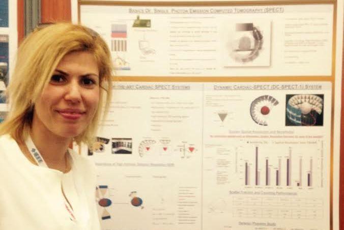 Yakın Doğu Üniversitesi Fransa'da Dünyanın En Büyük Nükleer Bilim ve Medikal Görüntüleme Konferansında Temsil Edildi
