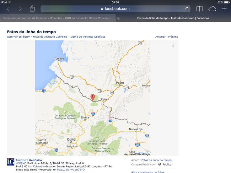 Tremor de terra em Ipiales