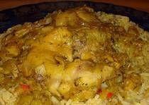 Moroccan Saffron Chicken Recipe | Moroccan Food | Pinterest