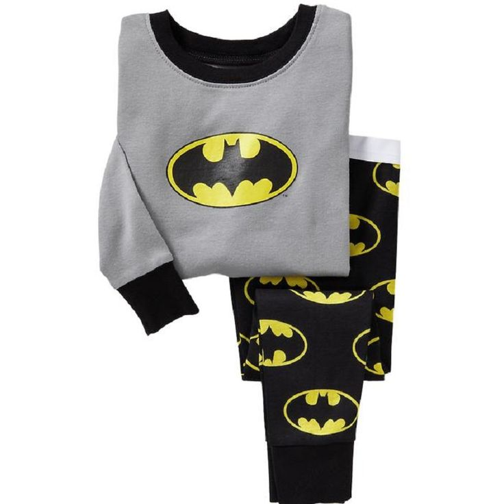 Batman Boy pajamas suit Super Hero Long Sleeve Pajama Children pijama Kids Sleepwear clothes at home nightgown #>=#>=#>=#>=#> Click on the pin to check out discount price, color, size, shipping, etc. Save and like it!