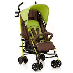 Hauck Speed Plus: A trendy buggy with a mix of coloured frame and coordinated fabrics. Extremely agile due to swivelling lockable front wheels. Find links to thousands of pushchairs and compare prices at www.uk-pushchairs.co.uk