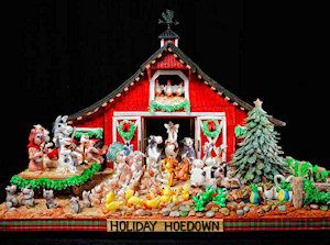 Grove Park Inn National Gingerbread House Competition, Asheville NC.  Mid November to January.