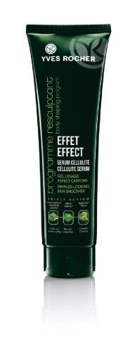 Effect Cellulite Serum Dimpled-Looking Skin Smoother smooths the appearance of unwanted cellulite.