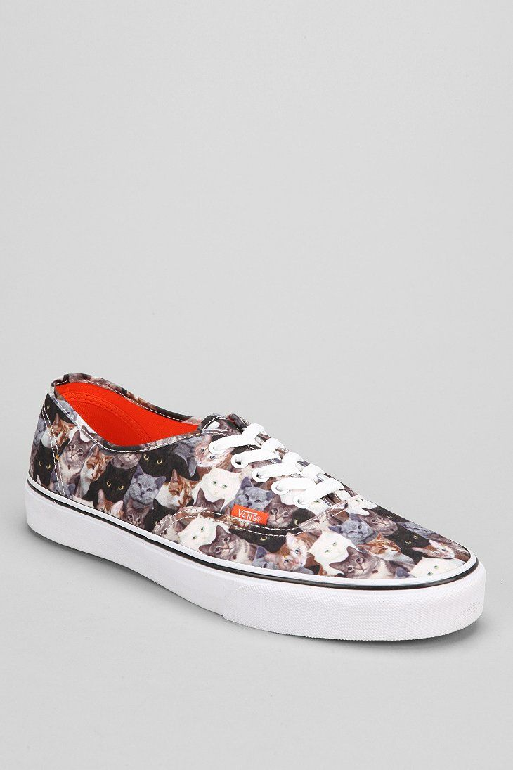 Vans X ASPCA Cats Authentic Men's Sneaker | Unique men's ...