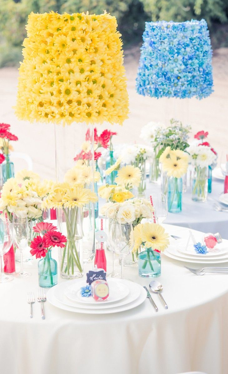 Retro Colorful Themed Wedding Style
