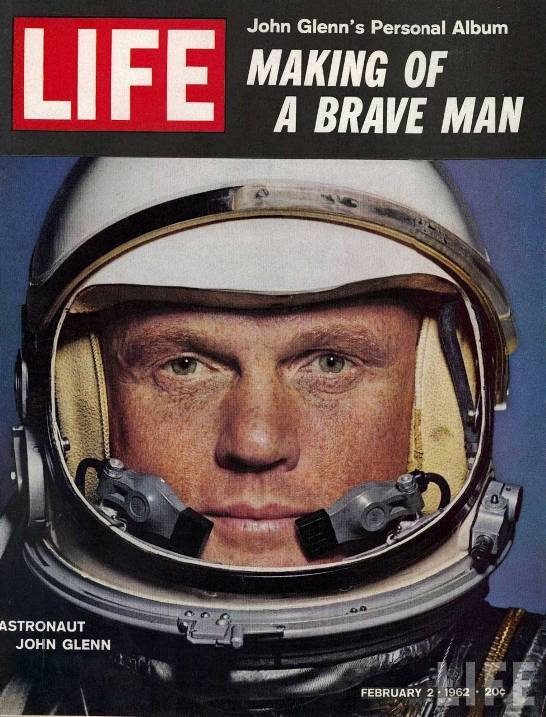 John Glenn was the first American to orbit the Earth aboard Friendship 7 on February 20, 1962, making him a national hero.
