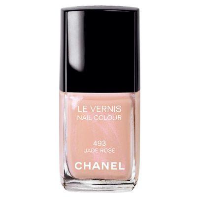 493!: Nails Colors, Pale Pink Nails, Beautiful Hair Nails Makeup, Perfect Nails, Beautiful Hairnailsmakeup, Rose Nails, Jade Rose, Pink Nails Polish, Chanel Polish