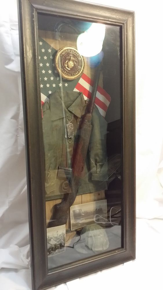 Usmc Man Cave Ideas : Images about shadow box on pinterest old stuff