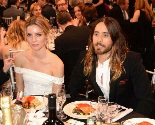 Jared Leto & Annanelle Wallis at 19th Annual Critics Choice Movie Awards 1/16/14