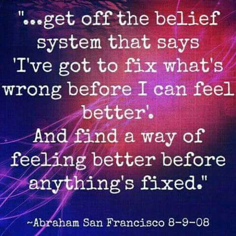 Feel better anyway