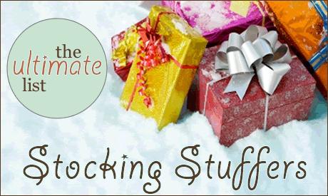 Stocking Stuffers For Everyone...a good common sense list