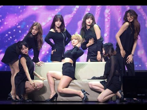 AOA takes The Stage with all Black Attire at their Performing in YES24 L...
