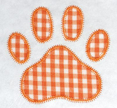 FREE Designs - Fonts and More! - FREE Paw Print Applique Design - Five Star Fonts (Powered by CubeCart)