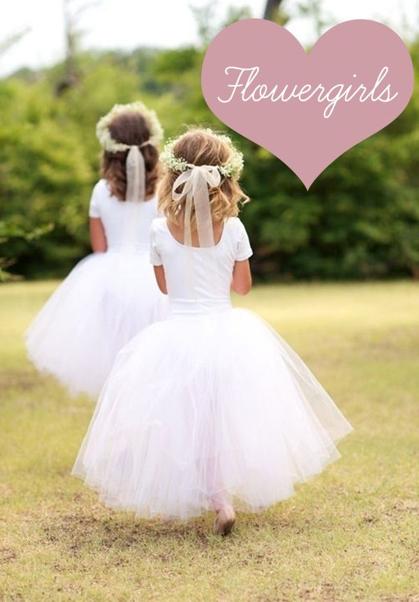 For the little princess who's going to be your mini-me, a selection of sweet little flower girl dresses for her to mull over. At all prices and styles we've covered all bases
