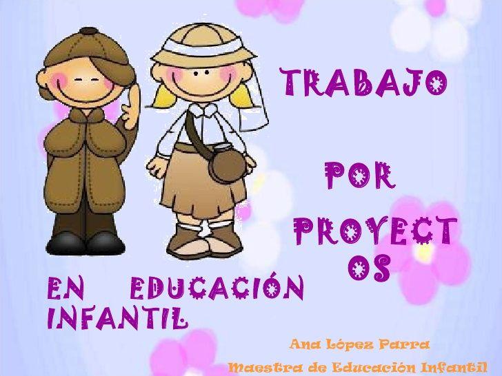 TRABAJO  POR  PROYECTOS  Ana López Parra Maestra de Educación Infantil EN  EDUCACIÓN   INFANTIL