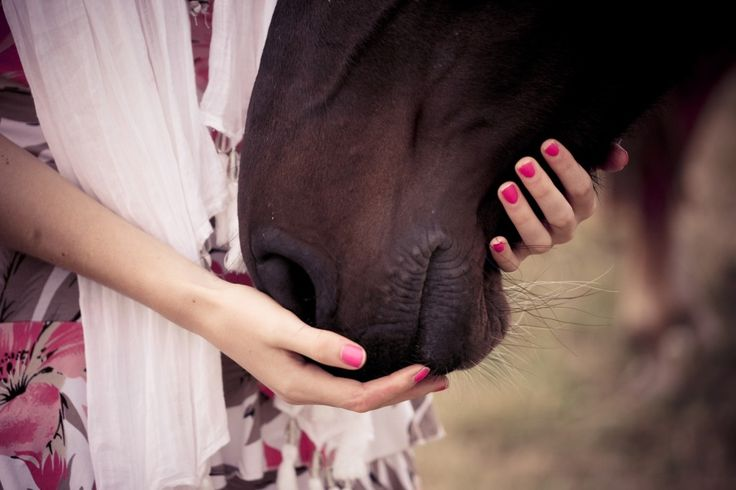 A girl and her horse. Photo by Sasha Bell http://sashabell.co.uk