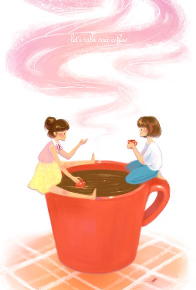 Coffee Talk by weiliwonka/ஐღ♡ღஐ