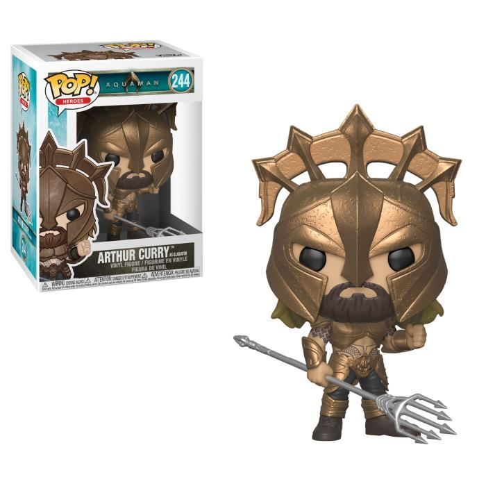Vinyl--Aquaman Pop Arthur Curry NYCC 2018 Exclusive Pop RS Vinyl