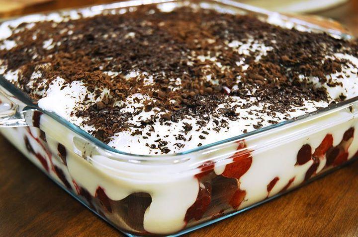 Bisküvili Puding Pasta Tarifi