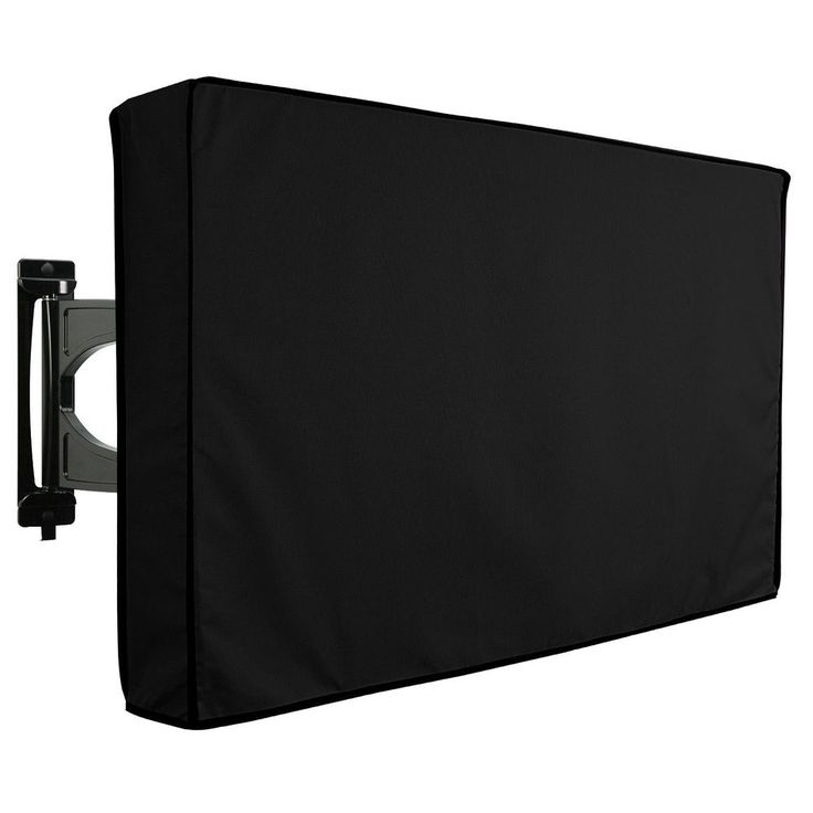 TV Cover Outdoor Khomo Gear Black Waterproof Protector All Sizes LCD LED Plasma #KhomoGear