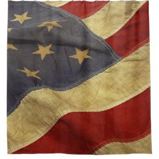 Keep Your Floor Dry U0026 Safe From Mildew With Patriotic Shower Curtains From  Zazzle!