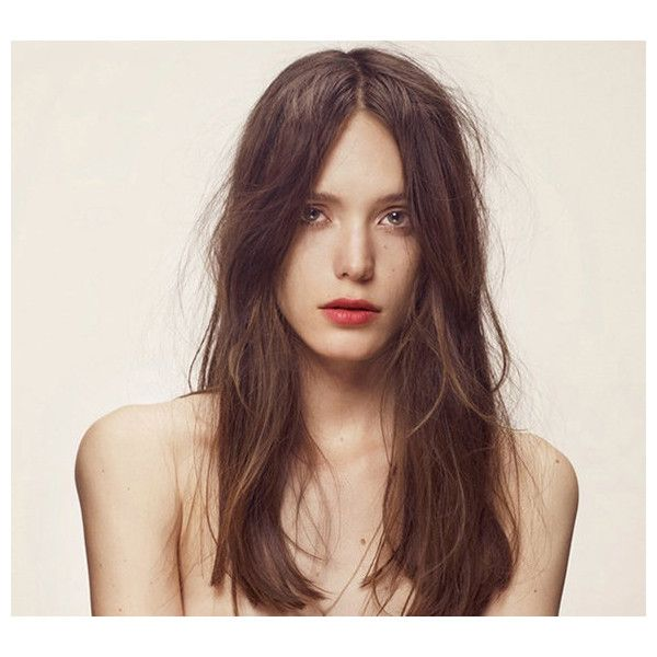 Miu Miu Names 'Nymphomaniac' Actress Stacy Martin Face Of Its First... ❤ liked on Polyvore featuring beauty products