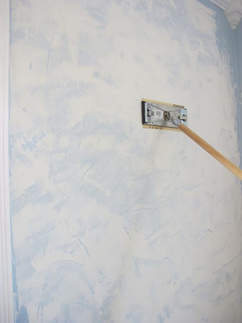 DIY: How To Smooth Out Textured Walls by Dream Book Design