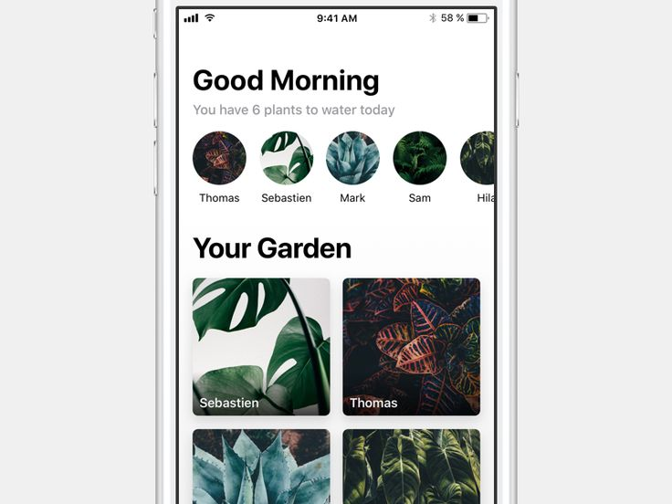 Potted iOS 11