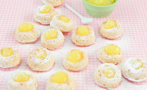 Epicure's Luscious Lemon Curd Doughnuts