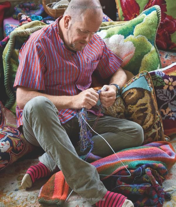 People Knitting Book : Http amazon knitting color guys inspiration