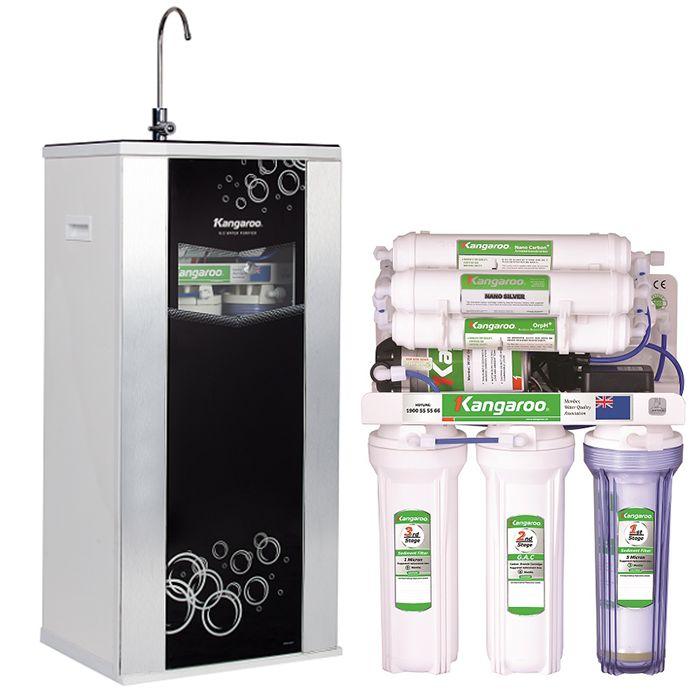 RO Water Purifier Kangaroo memiliki efek yang sama dengan radiasi inframerah (Far Infrared ray) Memperkaya dengan menambahkan kadar oksigen yang berguna untuk memperlambat proses penuaan pada kulit (anti aging)