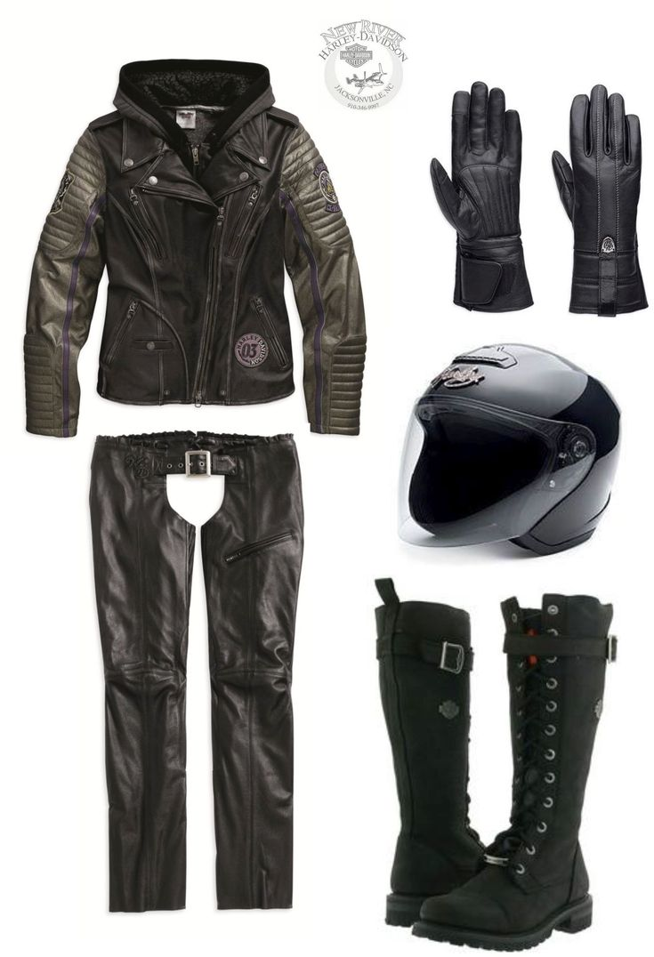 Womens leather motorcycle riding gloves - Harley Davidson Riding Gear Outfit Speedy Jacket Gloves Pink Label Helmet Bike Fashionmotorcycle Fashionpisceswomens