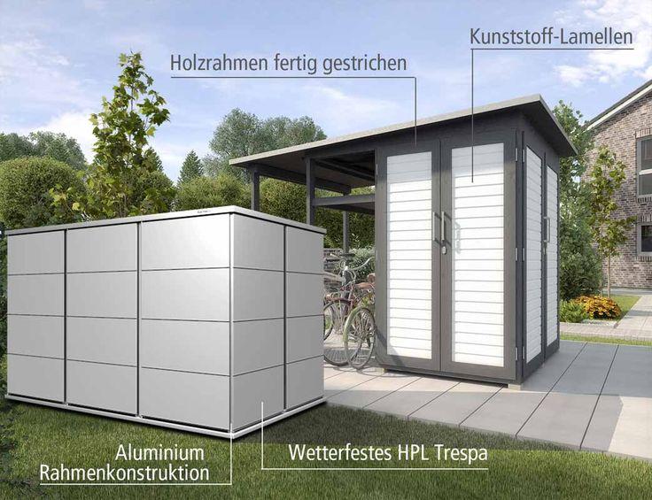 Gartenhaus Holz   Kunststoff