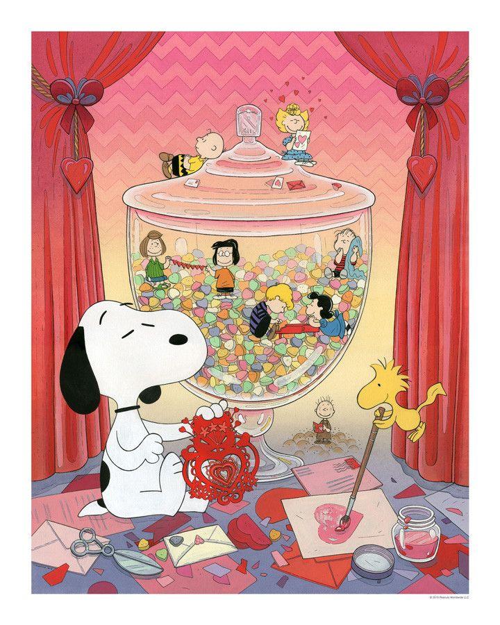 Snoopy Valentine - Standard