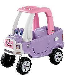 LITTLE TIKES - PRINCESS COZY TRUCK - For little girls with a passion for trucks