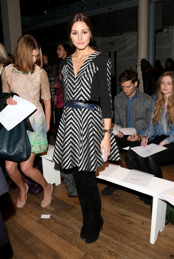 Olivia Palermo attends Matthew Williamson #LFW