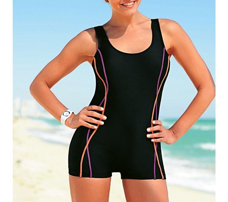Jednodílné plavky s nohavičkami | blancheporte.cz #blancheporte #blancheporteCZ #blancheporte_cz #swimsuit