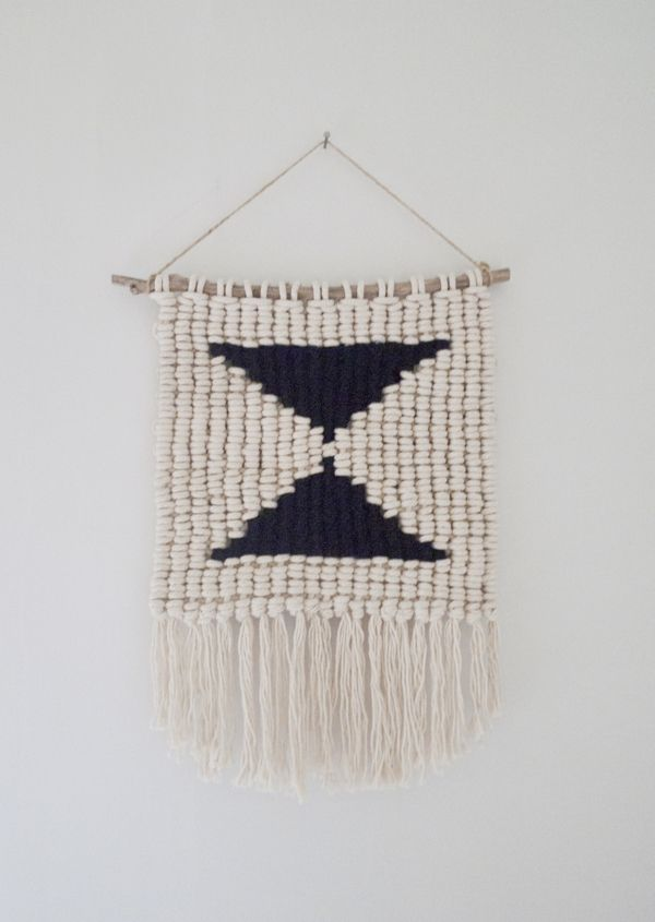 macramé weaving by Sally England