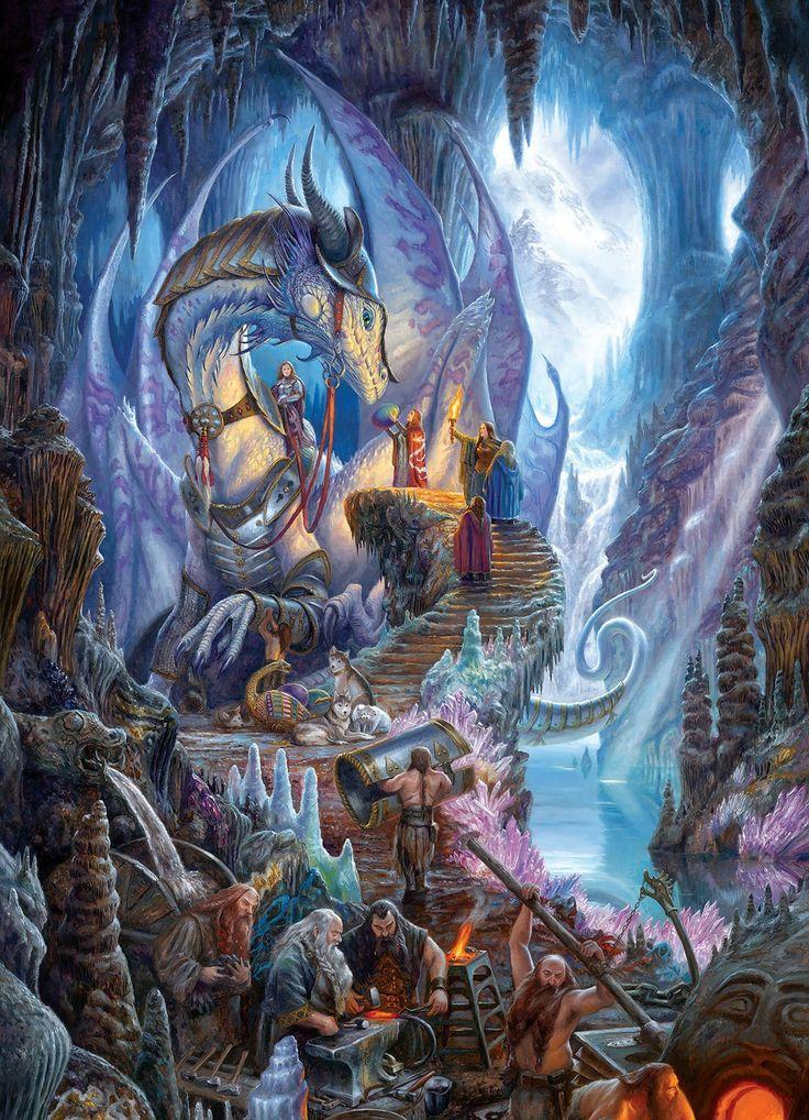 Dragon Forge 1000 Piece Jigsaw Puzzle
