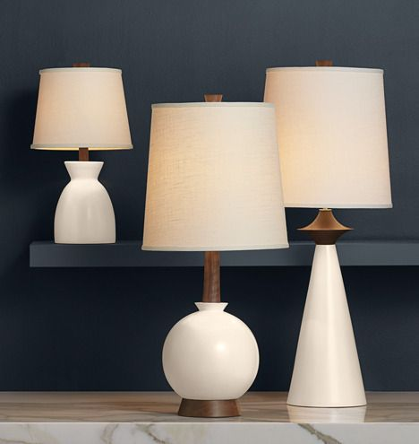 Rejuvenation Easy Update: Glisan, Belmont and Sullivan Table Lamps