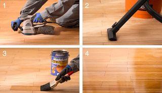 ¿Cómo dar brillo y protección a un piso de madera? #Piso