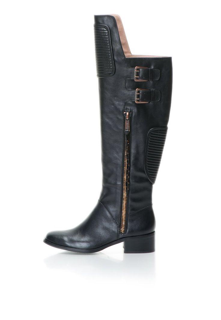 Murphy Fekete Térd Felé Érő Szárú Csizma a Calvin Klein Jeans márkától és további hasonló termékek a Fashion Days oldalán
