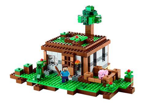 LEGO MINECRAFT 21115 Första natten