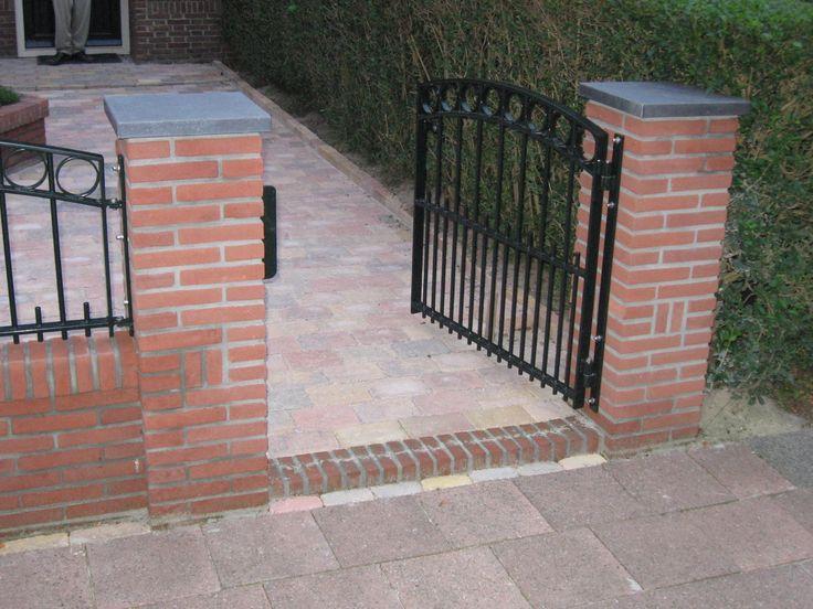 Tuinhek inspiratie tuin pinterest schutting hek en tuin - Modern tuinbekken ...