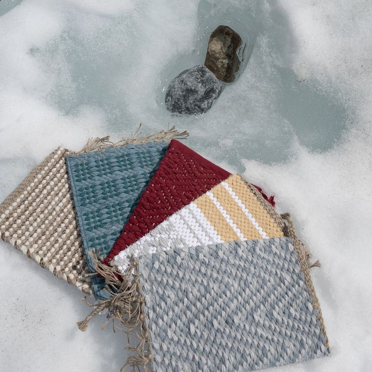 In the winter of 2016, ANKIs Rugs even traveled to the French Alps.